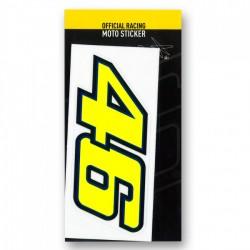 moto sticker - vr46