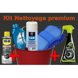 Kit nettoyage moto premium