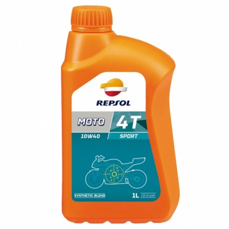 Repsol Huile 4-T Moto Sport 10W40